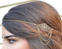 gold hair accessories for braids in Syria, best Body Piercing Jewelry