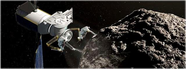 ARM - missão trará asteroide para a Lua