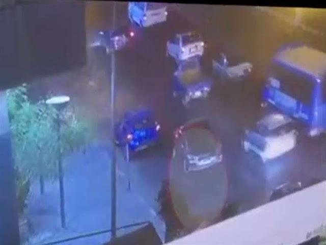 كاميرا المراقبة بجوار معهد الأورام ترصد لحظة انفجار السيارة المفخخة