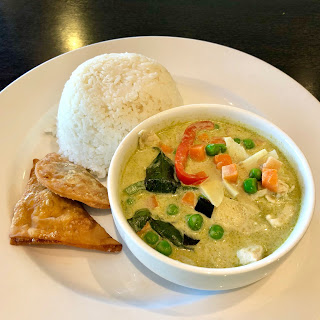 Green curry chicken at Chaba Thai Kitchen