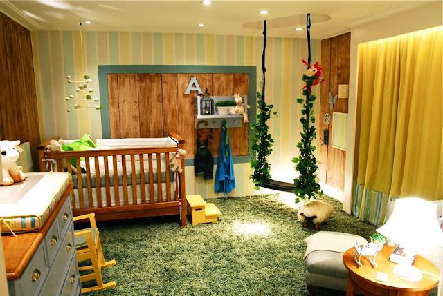 idéias de decoração originais para quarto de bebe