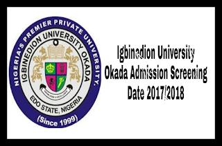 Image for Igbinedion University Okada Logo