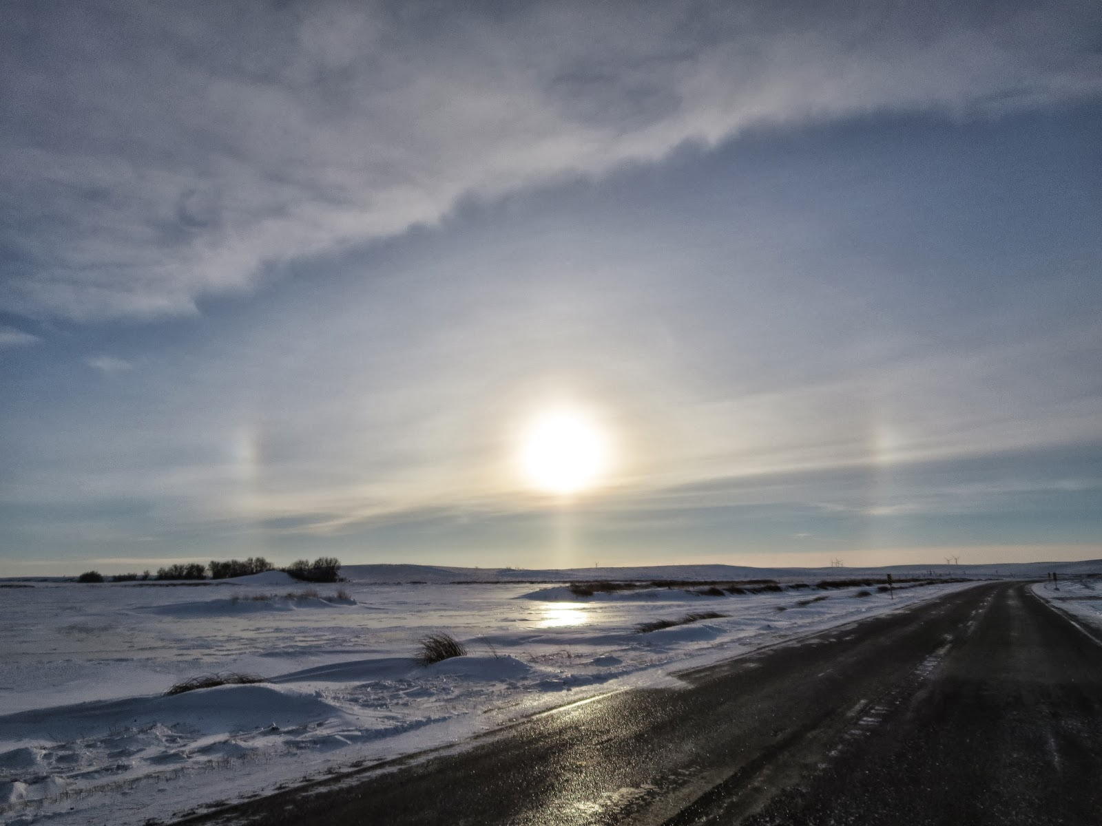 Sun Dog in North Dakota