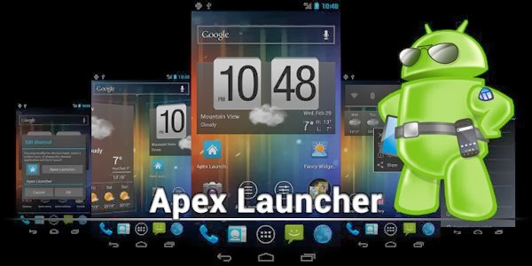 Apex Launcher Pro APK latest full version free download with license key