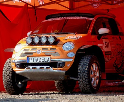 Fiat 500 Colours >> 5ooblog   FIAT 5oo: New Fiat 500 4WD - Rally Camp