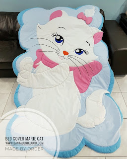 bed cover unik marie cat