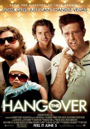The Hangover Part I 2009 BRRip 480p UNRATED Dual Audio 350MB