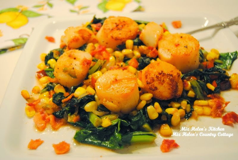 Scallops with Pepper Sauce