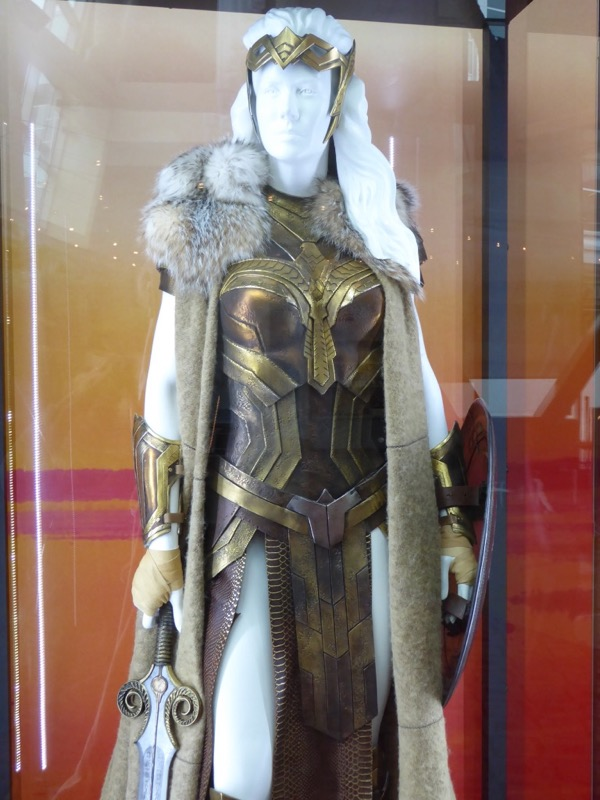 Wonder Woman Queen Hippolyta film costume