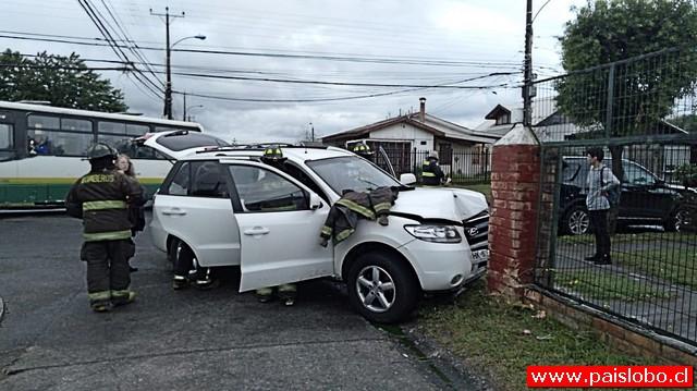 Osorno: voluntario de Bomberos iba a un llamado cuando sufrió accidente