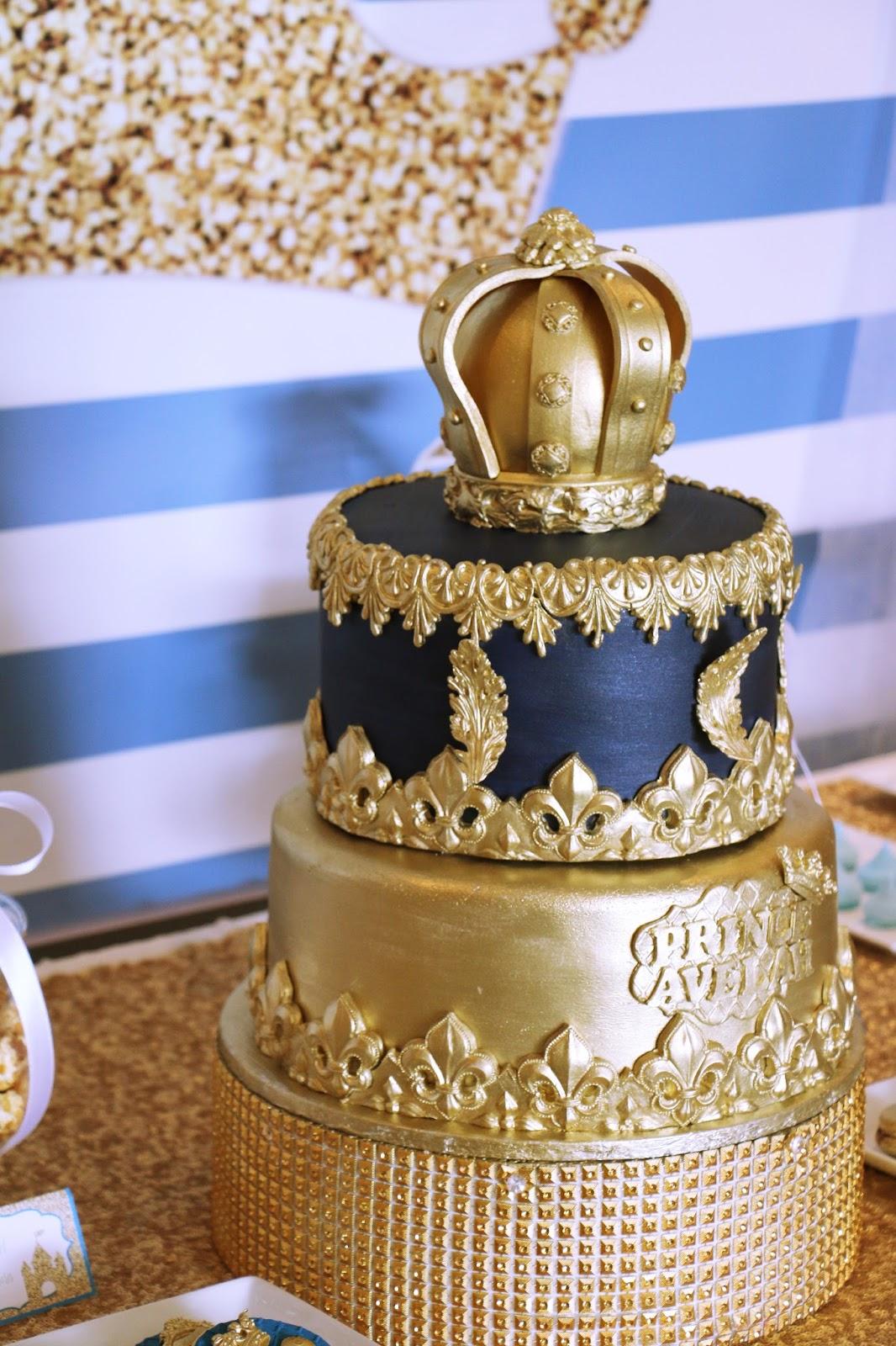 Royal Blue Birthday Cake Ideas
