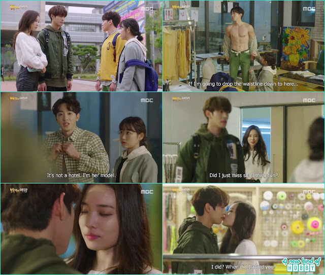mi joo steal a kiss from se gun - Queen of the Ring: Episode 3 Review (Three Color Fantasy)