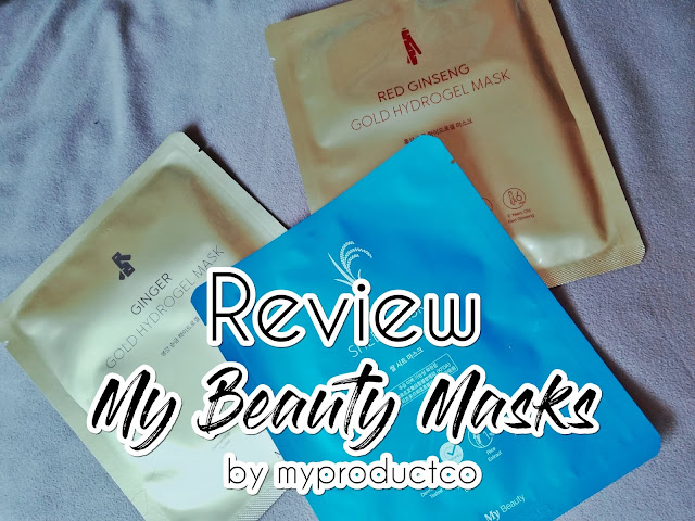 My Beauty Masks from My Product Co Review