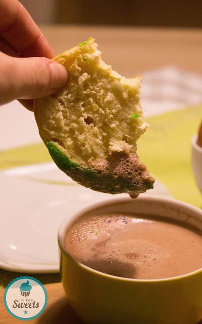 Conchas, Pan Dulce, Mexiko, Kulinarisch die Welt entdecken, Brötchen, Hefeteig, Zuckerkruste, mexikanisches Gebäck, Rezept, Kakao, Frühstück