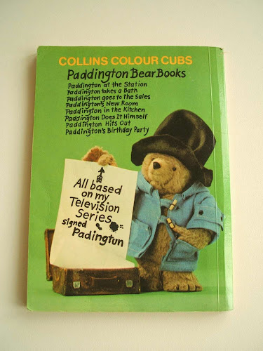 vintage paddington children's book 1970s