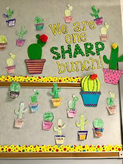 Sharp Bunch Cactus Display, www.justteachy.com