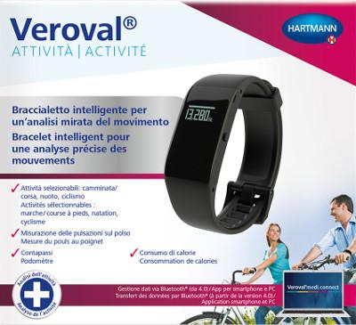 Software per il monitoraggio del Veroval Activity Tracker braccialetto intelligente per il monitoraggio del sonno e delle attività motorie