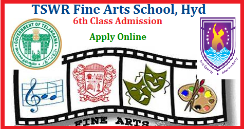Telangana State Social welfare Residential Educational Institutions TSWREIS Inviting Online Applications for the Entrance Exam to get Admission into Fine Arts School at Hyderabad. Submission of Online Application for VI Class Admission Entrance Exam of TSWR Fine Arts School for the Academic year 2019-20. Applications are invited online for admission into class VI in Telangana Social Welfare Residential Fine Arts School (Co-Ed), Malkajgiri, Medchal District for the academic year 2019-20. As the TSWR Fine Arts School (Co-Ed), Malkajgiri, Medchal District is a specialized institution and first of its kind in the education sector of the Telangana state, candidates from all over the Telangana state can apply for admissions. tswr-fine-arts-school-hyd-6th-class-admission-entrance-exam-apply-online-hall-tickets-results-download