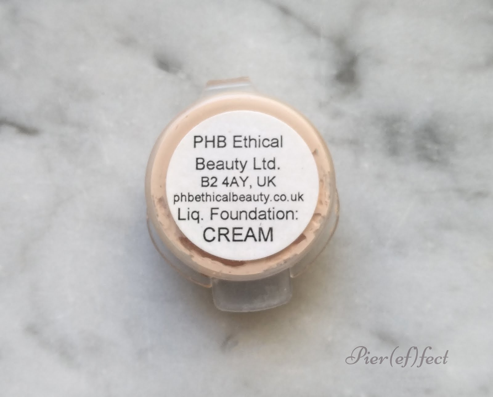 PHB Ethical Beauty Pure Skin Organic Liquid Foundation