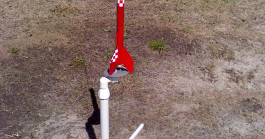 Flying The Pitsco Solid Fuel Rockets