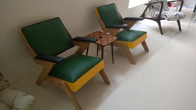Móveis no estilo vintage na Desmobília
