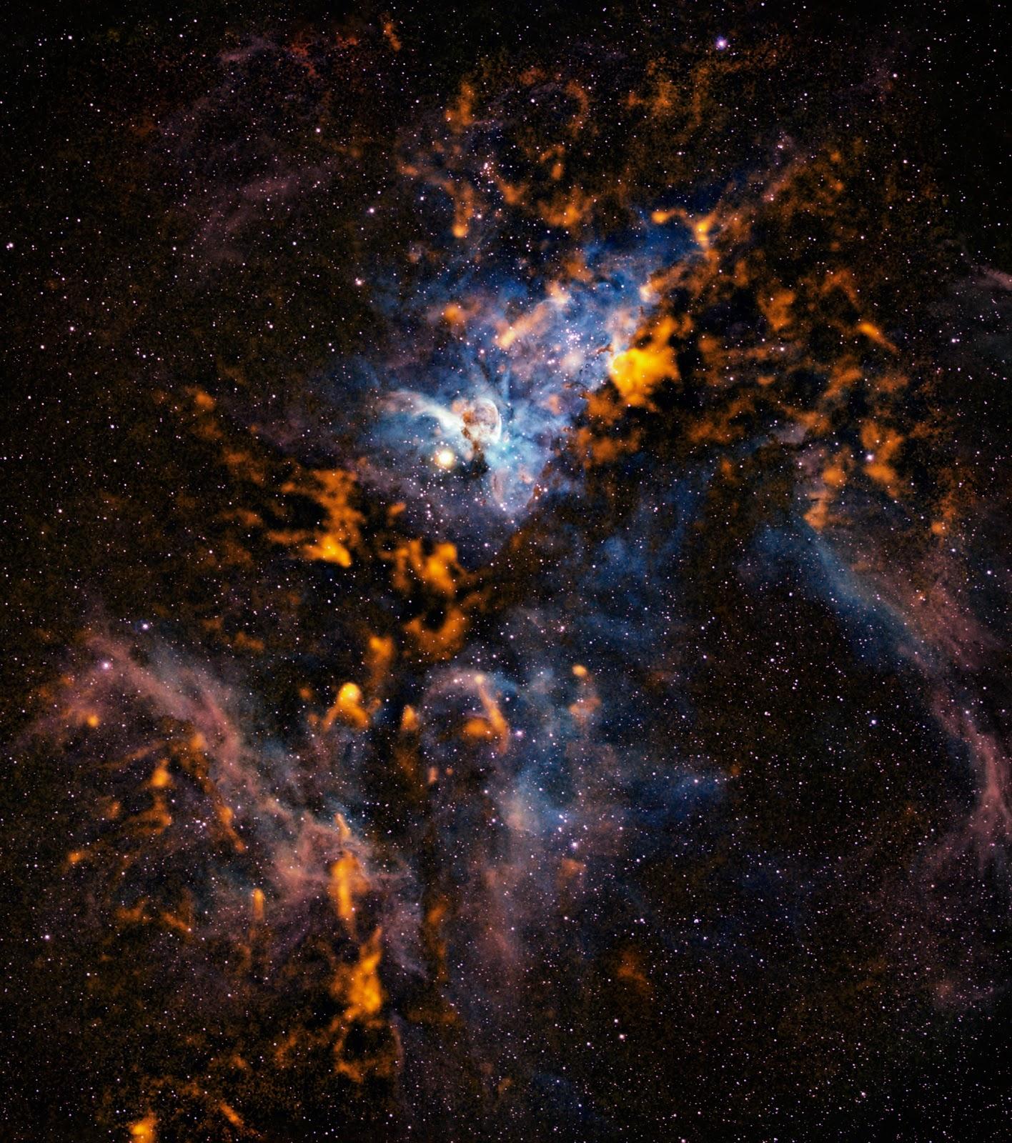 cool nebulas and galaxies - photo #38