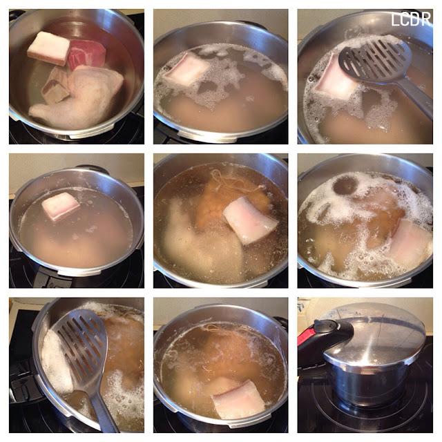 Receta de cocido