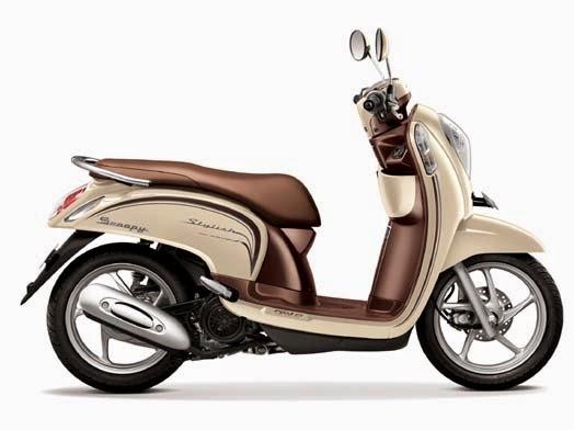 Honda Scoopy eSP Stylish Chic Cream