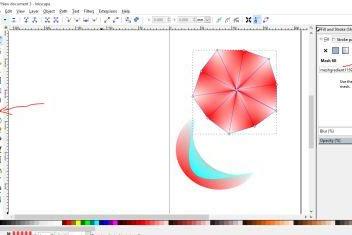 7 Langkah dan cara mudah membuat logo dengan Inkscape