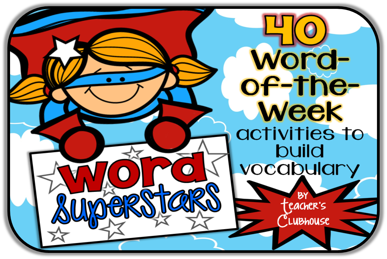 https://www.teacherspayteachers.com/Product/Word-Superstars-Vocabulary-of-the-Week-1262288