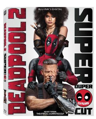 DEADPOOL 2 Super Duper on DVD