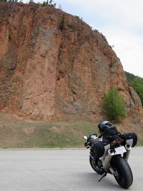 Aprilia Tuono Radium Hot Springs BC