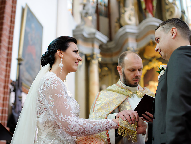 Vestuvės šv. Onos bažnyčioje