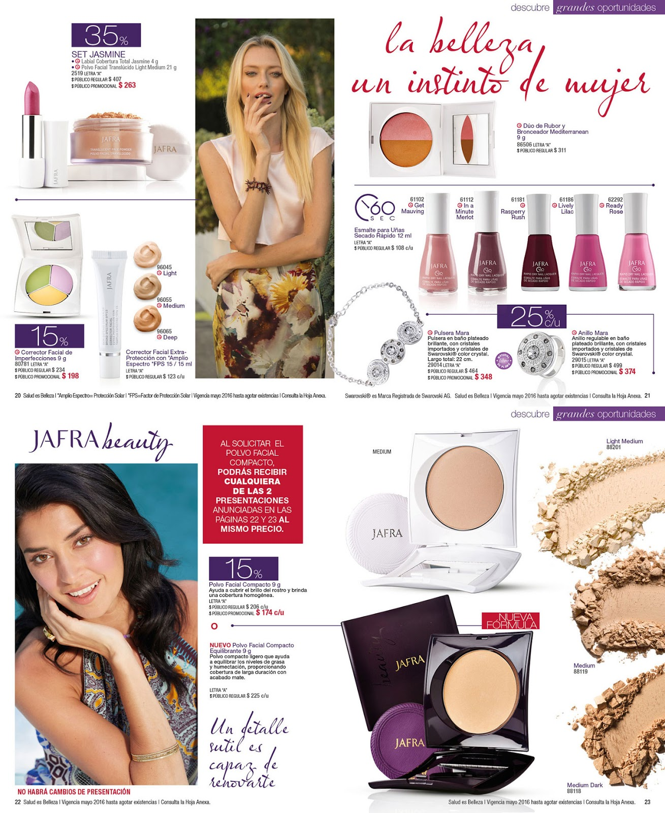 Linaje Jafravic Catalogo Jafra Oportunidades Mayo 2016