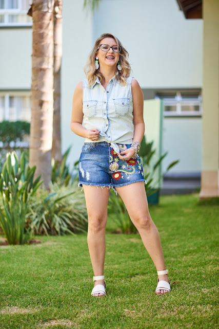Shorts florido