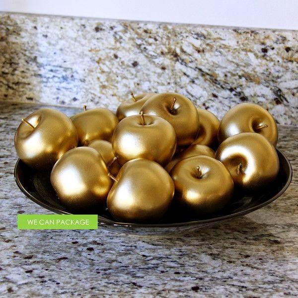 ouro na decoração