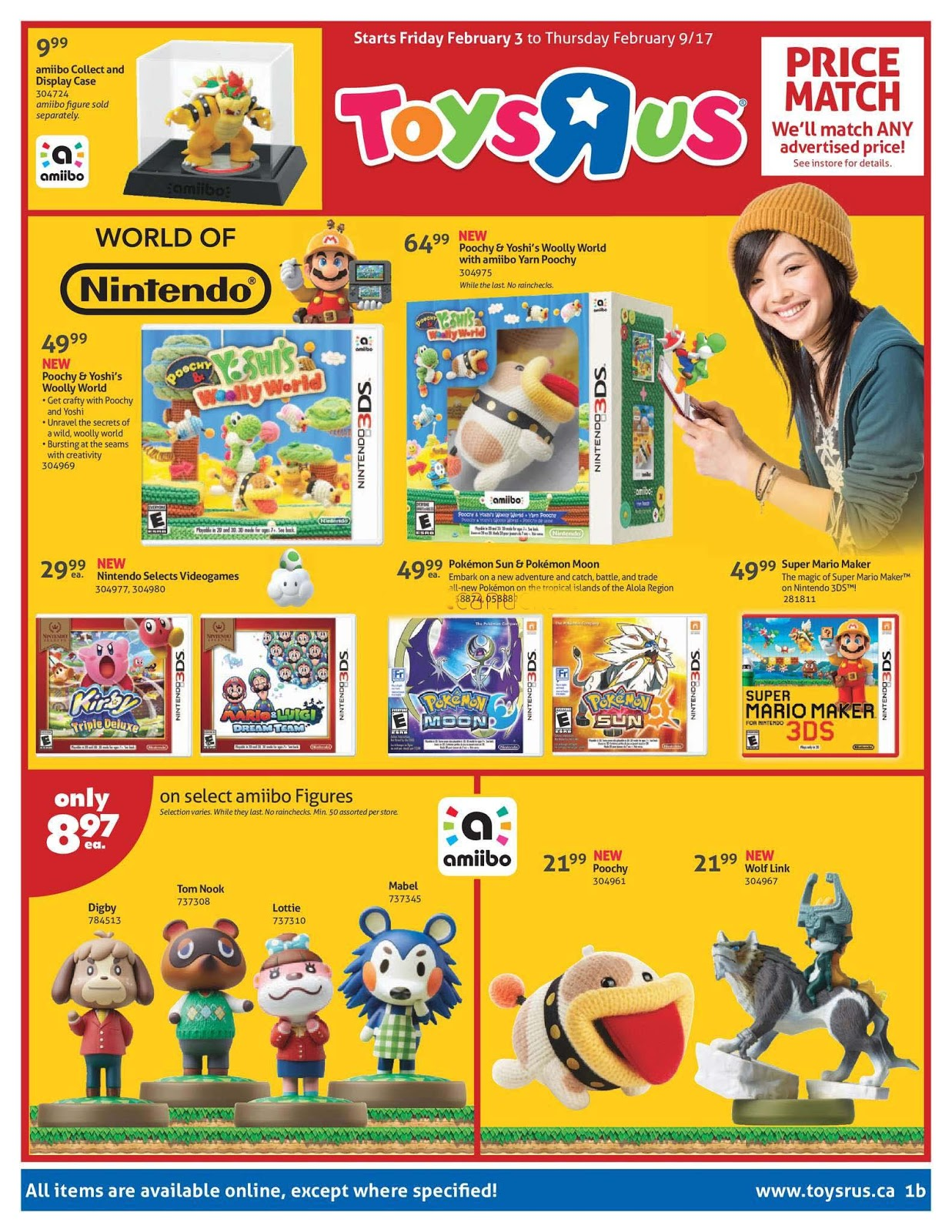 Toys R Us Flyer : Toys r us flyer february weekly flyers canada