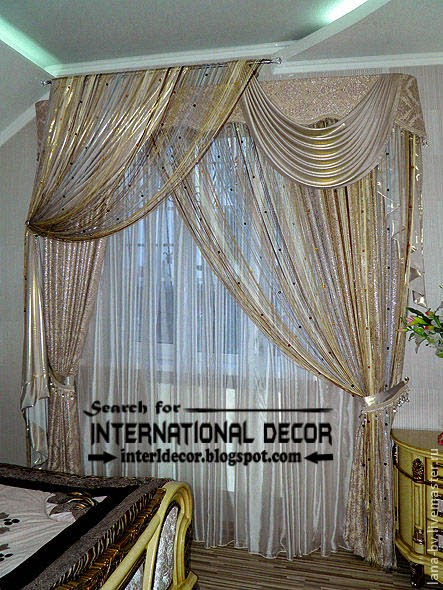 ready made curtains, modern curtain designs, bright bedroom curtains