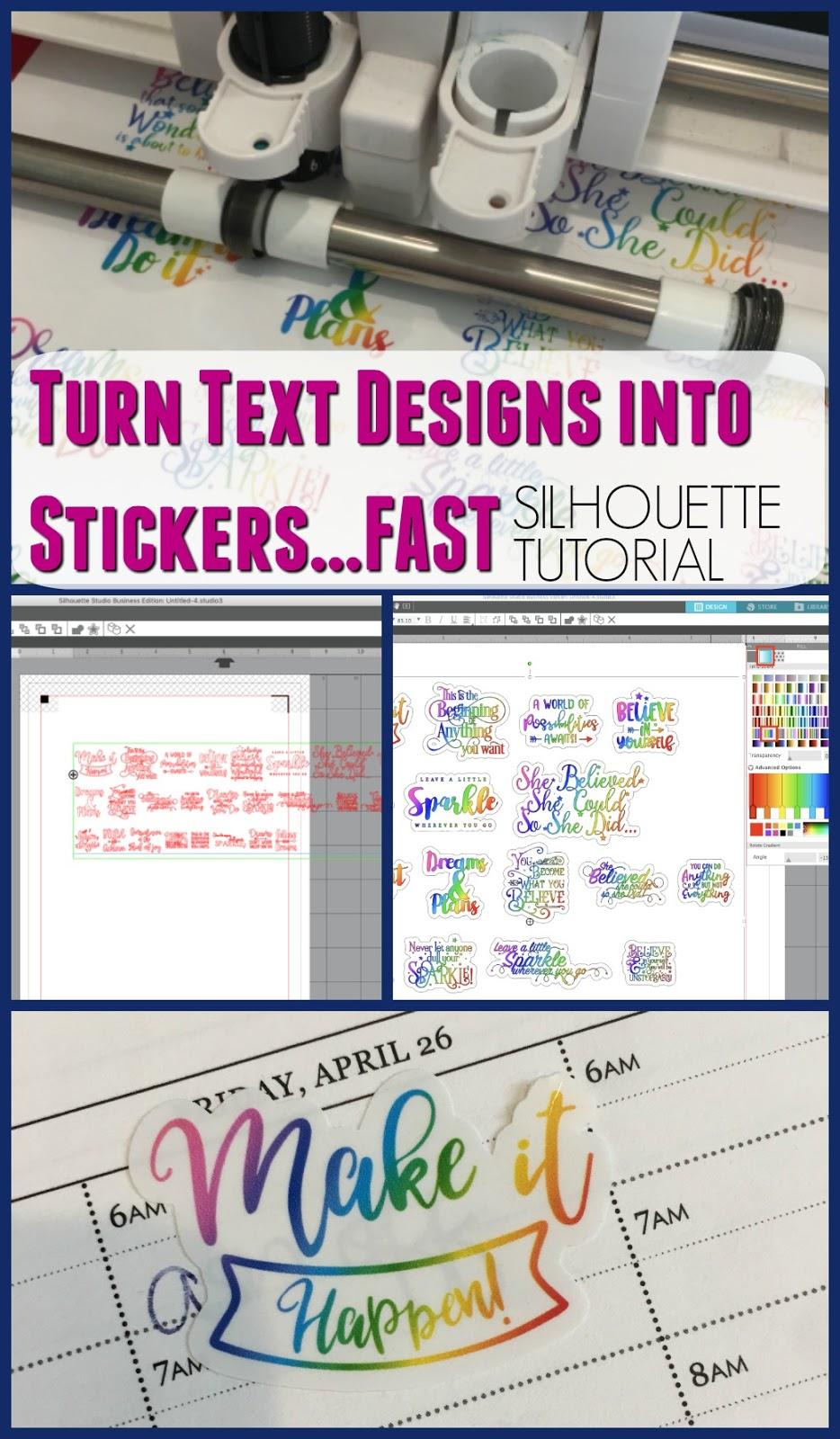 silhouette america blog, silhouette 101, silhouette sticker paper, silhouette sticker, silhouette stickers