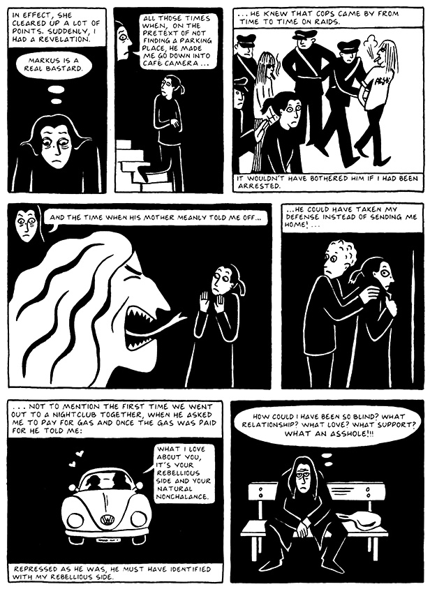 Read Chapter 9 - The Veil, page 82, from Marjane Satrapi's Persepolis 2 - The Story of a Return