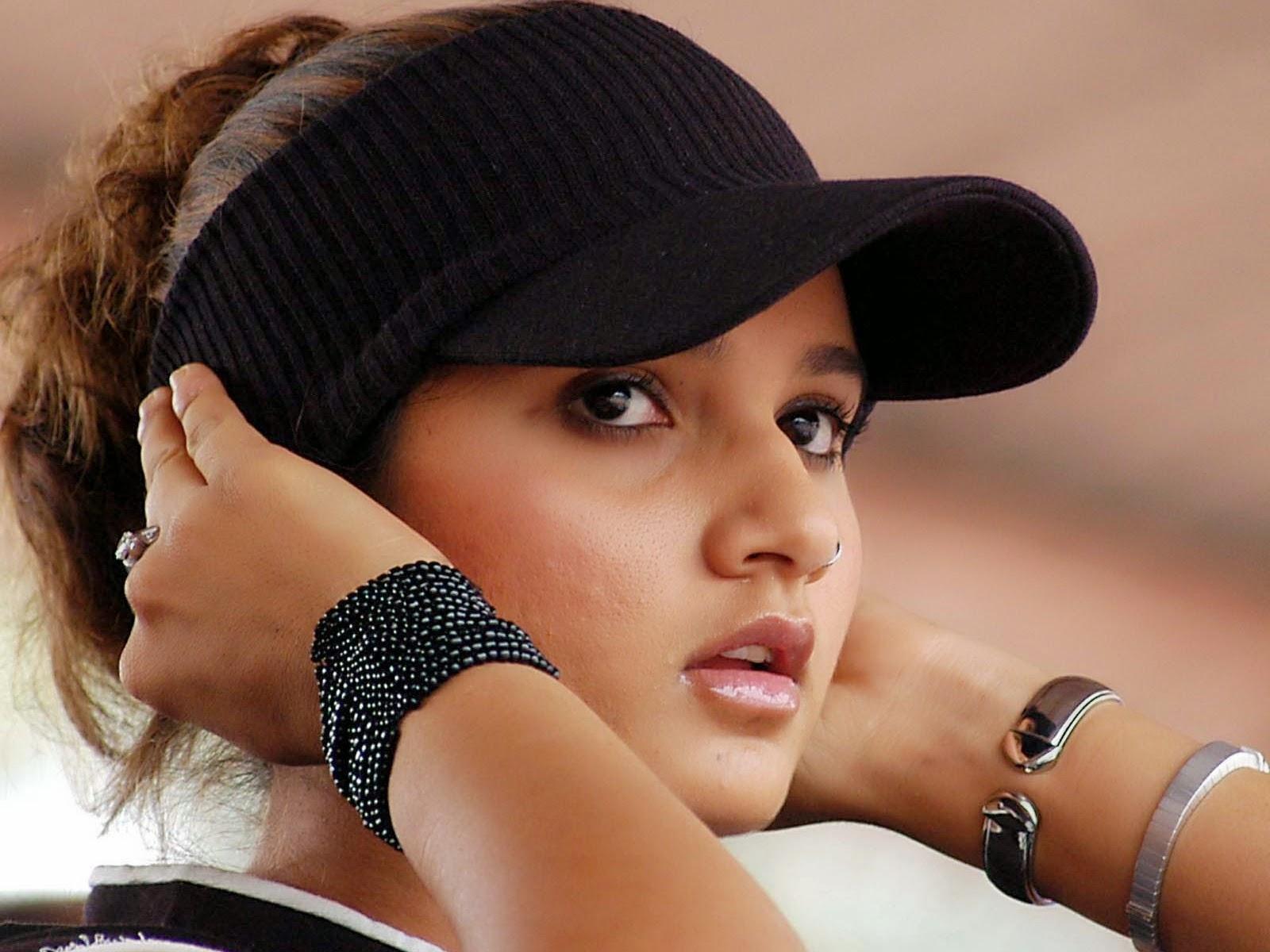 Sania Mirza Latest Hd Walpaper 2014  3D Tennis Wallpaper-6922