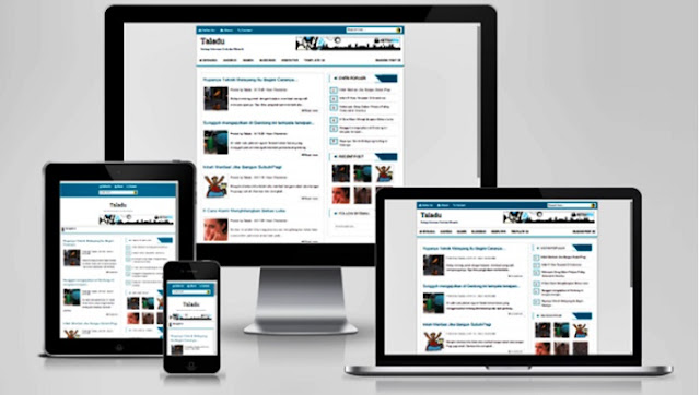 simple aja Blogger Theme
