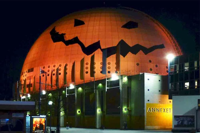 Halloween w Szokholmie