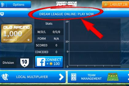 Cara Bermain Multiplayer Online Dream League Soccer