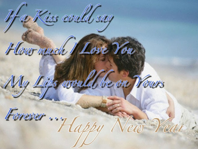 happy new year 2017 romantic image wallpaperfor boyfriend and girlfriend