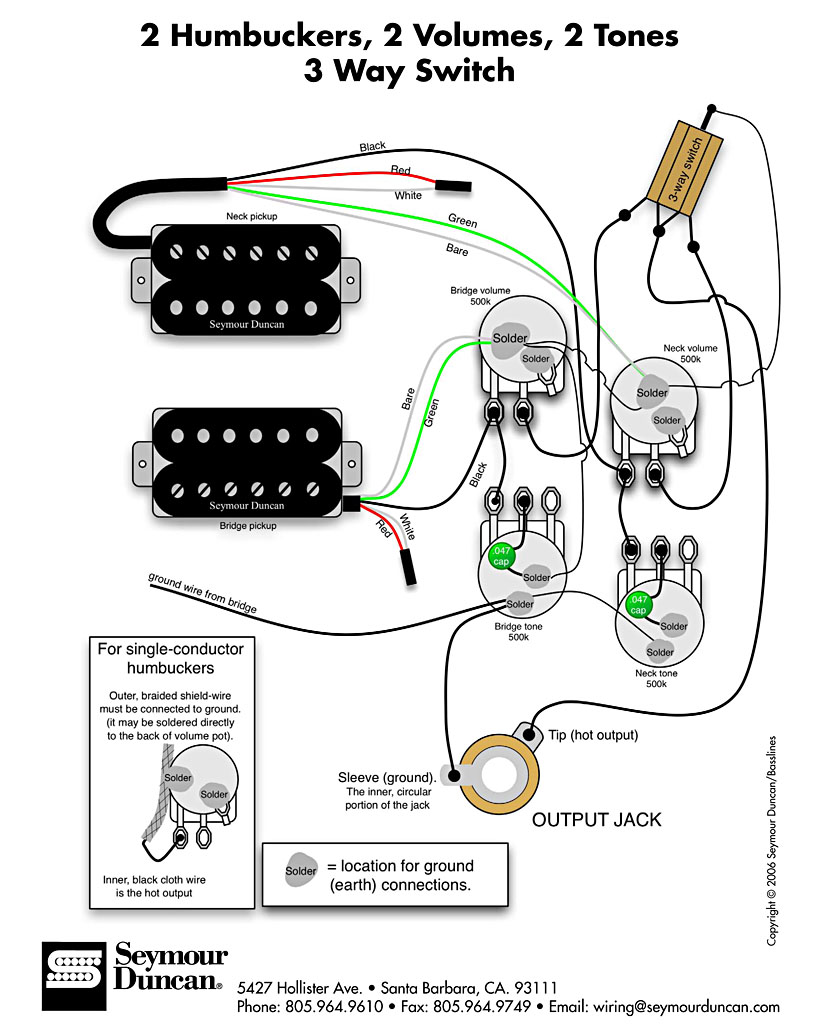 totalrojo guitars  wiring