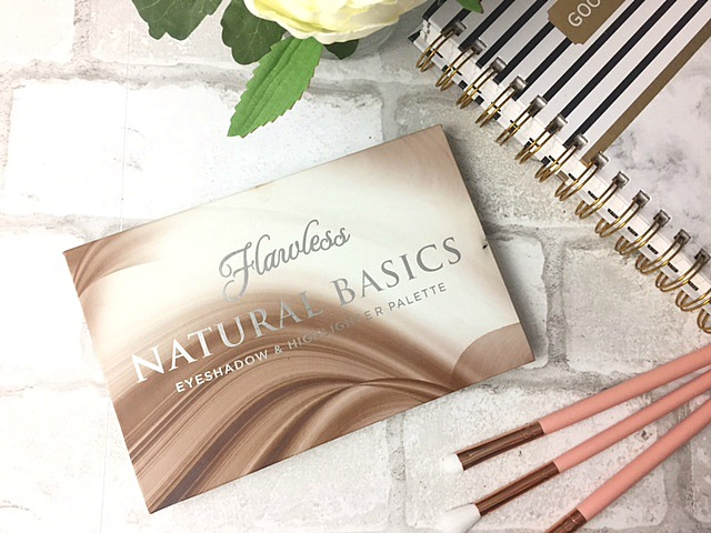 Flawless natural basics palette review