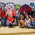 Em Piritiba, Secretaria Municipal de Assistência, junto com o CREAS, realiza intervenção artística