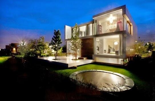Fachadas de casas modernas fachadas de casa moderna con for La casa moderna