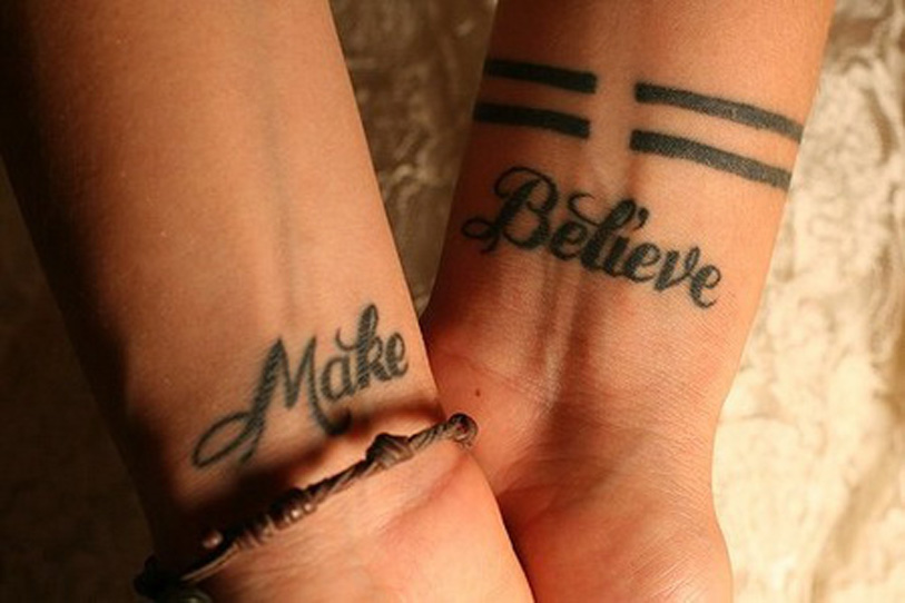 names wrist tattoos with names names on